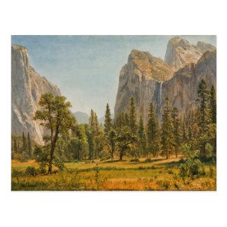 Bierstadt Bridal Veil Falls, Yosemite Valley Postcard