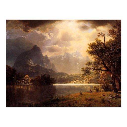 Bierstadt Estes Park Colorado Postcard