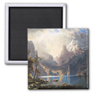 Bierstadt Lake Tahoe Magnet