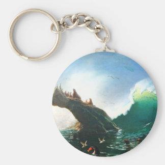 Bierstadt San Francisco Seals Key Chain