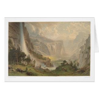 Bierstadt Yosemite Valley, California (1884A) Greeting Card