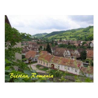 Biertan, Romania Postcard