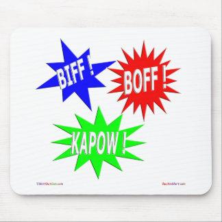 Biff Boff Kapow Mousepad