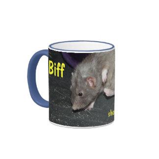 Biff dancing mug