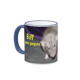 Biff goes gangsta mug