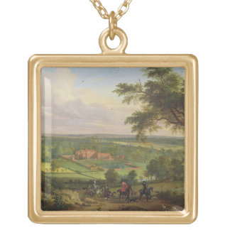 Bifrons Park, Patrixbourne, Kent, formerly attribu Square Pendant Necklace