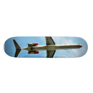 Big Airplane Take Off Custom Skate Board