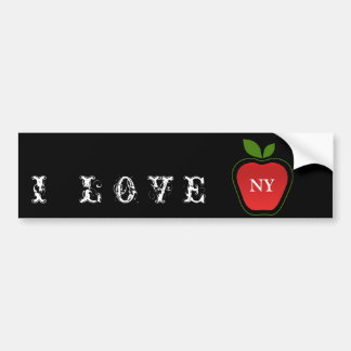 Big Apple Bumper Sticker