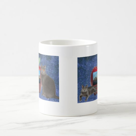 Big Apple Chartreux mug