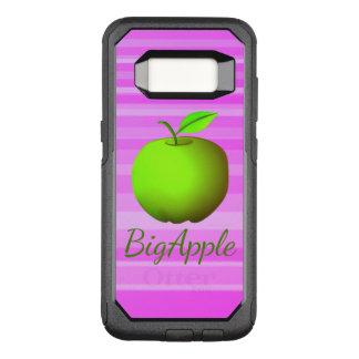 Big Apple Green Neon Modern Stripes Vibrant Cool OtterBox Commuter Samsung Galaxy S8 Case