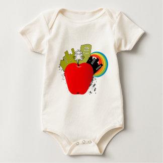 Big Apple New York Baby Bodysuit