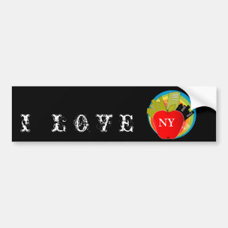 Big Apple - New York Bumper Sticker