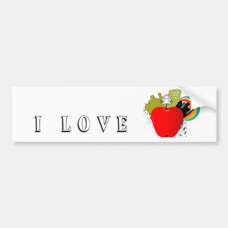 Big Apple - New York Bumper Stickers