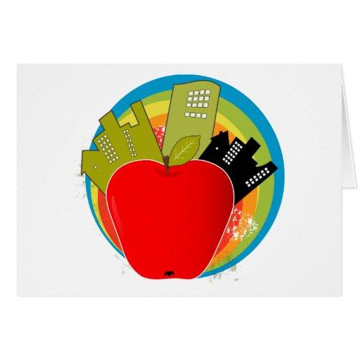 Big Apple - New York Greeting Cards