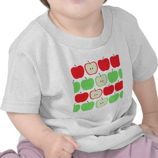 Big Apples Pattern Tshirt