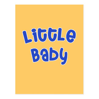 Big Baby Little Baby Matching T shirt Set Postcard