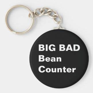 BIG BAD BEANCOUNTER - Funny Accountant Job Title Key Ring