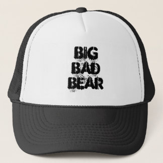 Big Bad Bear Grunge Trucker Hat