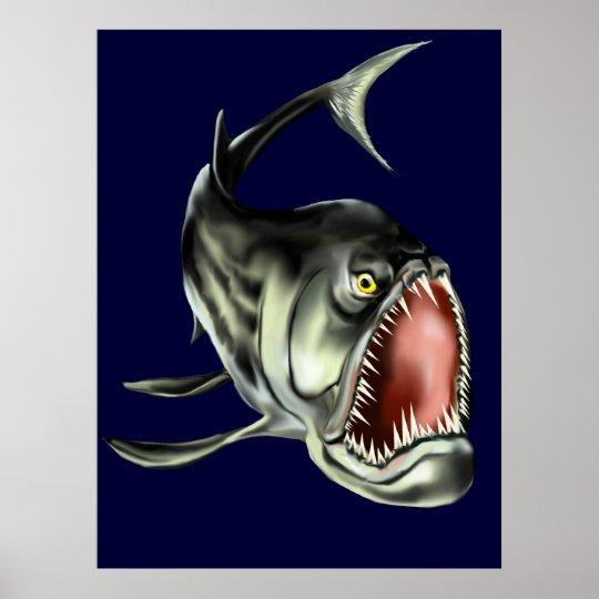 Big Bad Fish Poster