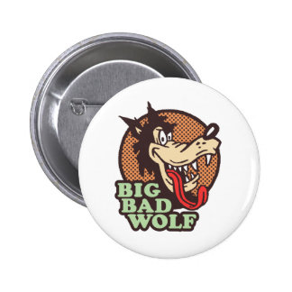 Big Bad Wolf 6 Cm Round Badge