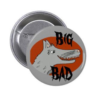 BIG BAD WOLF cartoon storybook red riding hood 6 Cm Round Badge