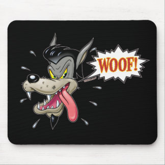 Big Bad Wolf Pad Mouse Mat