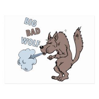 Big Bad Wolf Postcard