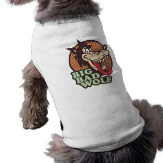 Big Bad Wolf Sleeveless Dog Shirt