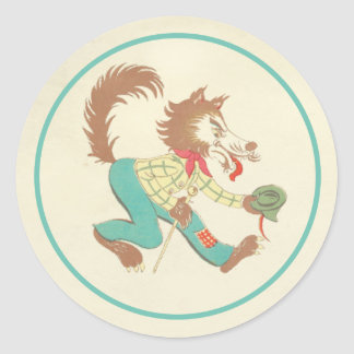 Big bad wolf sticker