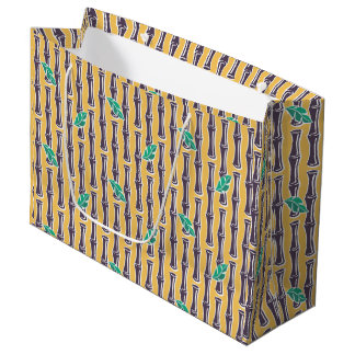 Big Bamboo - Yellow - Large Gift Bag