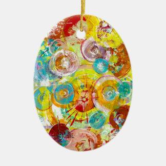 Big Bang 2 Ceramic Oval Decoration