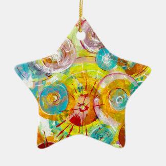 Big Bang 2 Ceramic Star Decoration