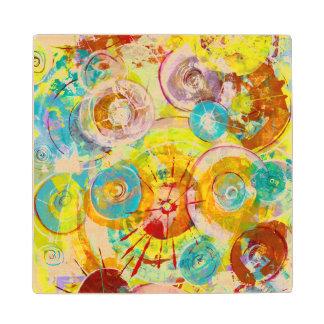 Big Bang 2 Maple Wood Coaster
