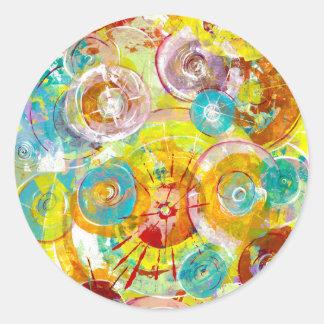 Big Bang 2 Round Sticker
