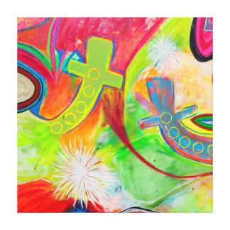 Big Bang 40 x 40 Canvas Print
