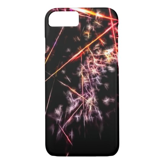 Big Bang Abstract Fractal iPhone 8/7 Case