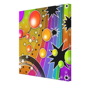 Big Bang Black Hole COSMIC Wrapped Canvas Gallery Wrap Canvas