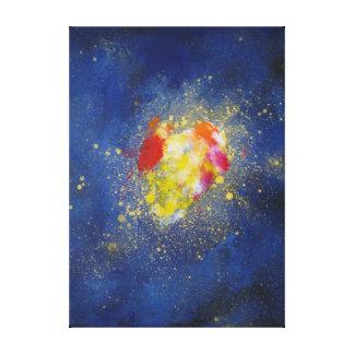 Big Bang Canvas Prints