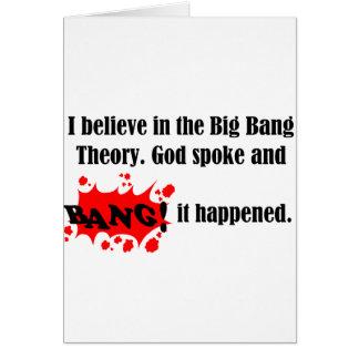 big bang greeting cards