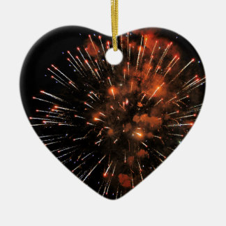 Big Bang Ceramic Heart Decoration
