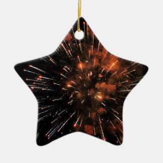 Big Bang Ceramic Star Decoration