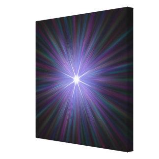 Big Bang, conceptual computer artwork. 2 Canvas Print