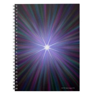 Big Bang, conceptual computer artwork. 2 Note Book