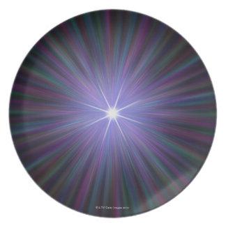 Big Bang, conceptual computer artwork. 2 Plate