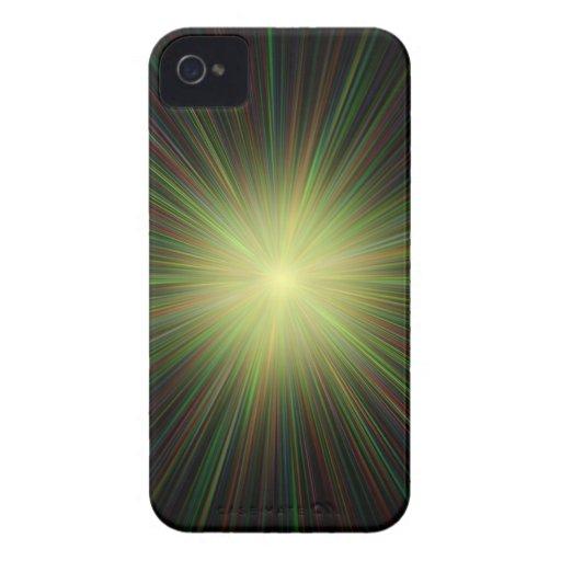 Big Bang, conceptual computer artwork. iPhone 4 Case-Mate Cases