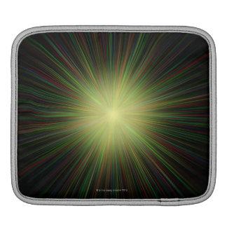 Big Bang, conceptual computer artwork. iPad Sleeve