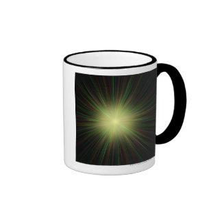 Big Bang, conceptual computer artwork. Coffee Mug