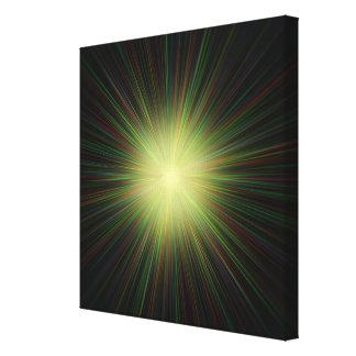 Big Bang, conceptual computer artwork. Stretched Canvas Print