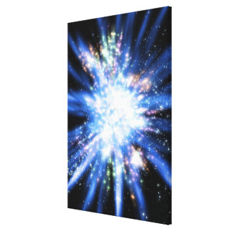 Big Bang from Outer Space Canvas Print