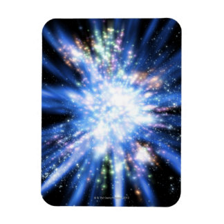 Big Bang from Outer Space Rectangle Magnet